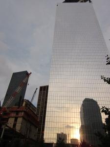WTC en construcción